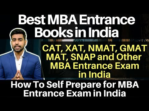 Best Books For MBA Preparation || How to self prepare for MBA Entrance