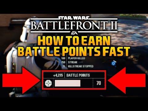 EARN BATTLE POINT FAST (5000 Battle Points in 1 Minute): Star Wars Battlefront 2 Battle Points