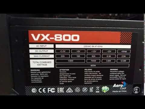 Aerocool VX-800 800W