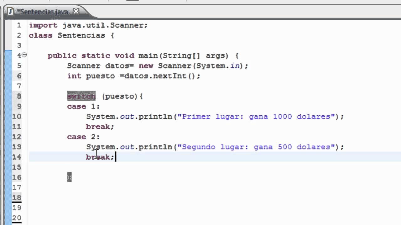 Programar en java programacion en java tutorial en espa for Como programar en java