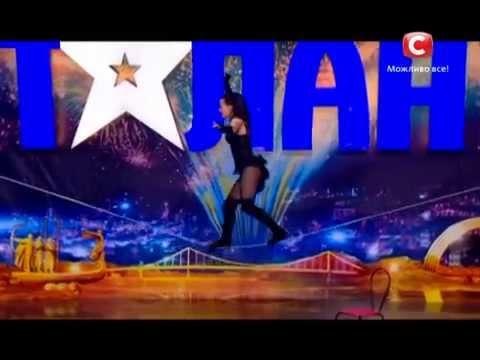 Dancing on the ROPE - Amazing!!! - Ukraine's Got Talent