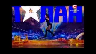 Dancing on the ROPE - Amazing!!! - Ukraine's Got Talent