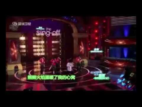 The Sing-Off China S1 Champion - Freeman performances清唱团第一季冠军自由人表演集锦