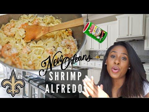 How To Cook Cajun Shrimp Alfredo- Easy, Quick, Delicious Meal