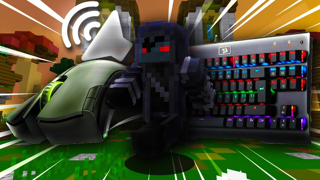 MOUSE & KEYBOARD SOUNDS [60 FPS] + MATO a DOS YOUTUBERS! #1
