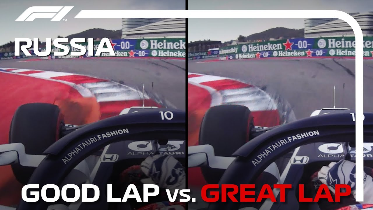 Download Good Lap Vs Great Lap With Pierre Gasly   Russian Grand Prix
