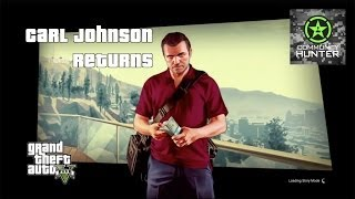 Grand Theft Auto V - Carl Johnson Returns Easter Eggs