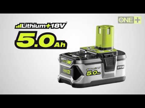 ryobi one 18v 5 0ah lithium battery introduction video. Black Bedroom Furniture Sets. Home Design Ideas