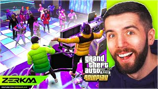 Mandem NIGHT OUT In GTA 5 RP!