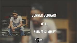 Ak ill - Summer Summary
