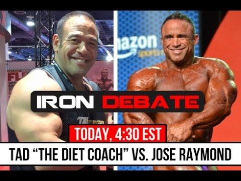 Sergio Oliva Jr. THE NEXT GREAT! Iron Debate - Palumbo/Tad/Jose Raymond 11/24/15