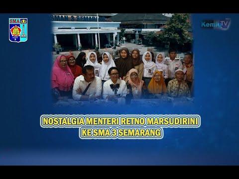Nostalgia Badak Sambal...! Menteri Luar Negeri Retno Marsudirini Kunjungi Almamaternya