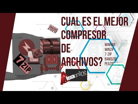 Cual Es El Mejor Compresor De Archivos 2020. 7-zip, Winrar, Winzip, Peazip O Bandizip.  4 PRUEBAS!!