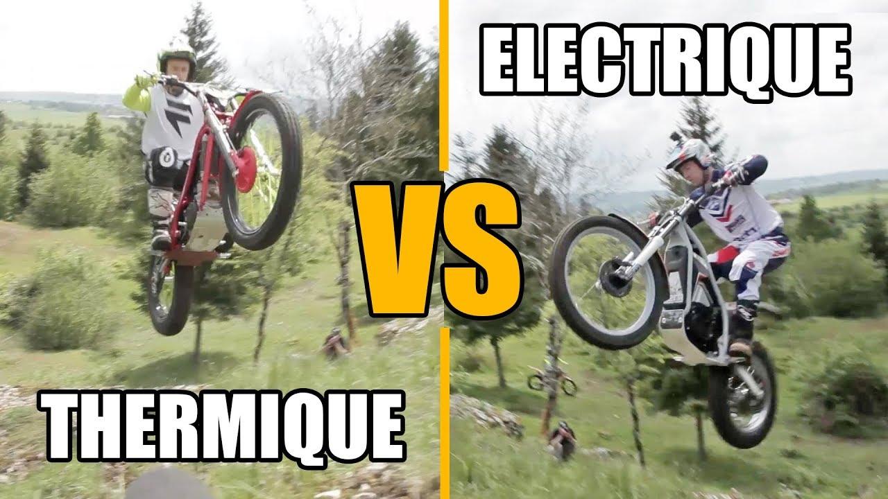 DEFI TRIAL : Moto Electrique VS Moto Thermique (feat. Bastien Hieyte & Julien Desbordes)