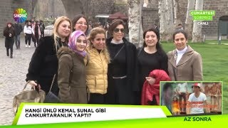 Diyarbakır'da Nebahat Çehre izdihamı!