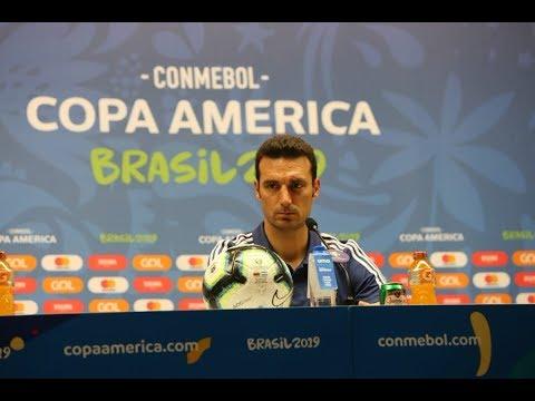 Conferencia de prensa -  Lionel Scaloni