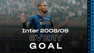 EVERY GOAL! | INTER 2008/09 | Ibrahimovic, Balotelli, Maicon, Adriano, Figo and many more... ⚽⚫🔵