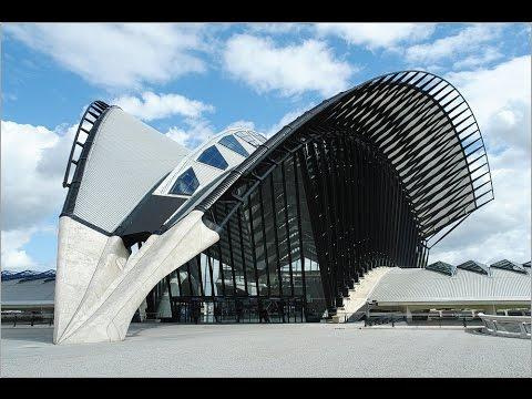 "Architecture. Santiago Calatrava "" Satolas TGV Station"""