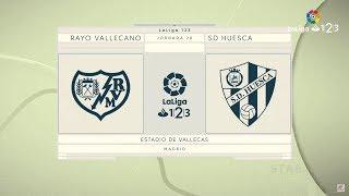Partido de la Jornada: Rayo Vallecano vs SD Huesca
