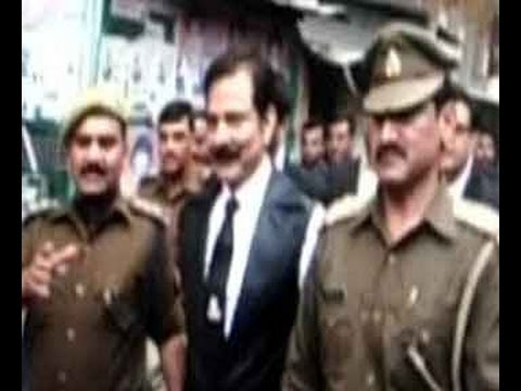 Watch Sahara chief Subrata Roy arrested in Lucknow