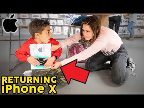 Returning Our Sons IPHONE X **GONE WRONG** | The Royalty Family