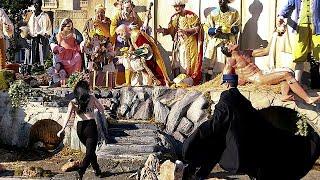 Topless Femen activist tries to grab baby Jesus from Vatican nativity scene
