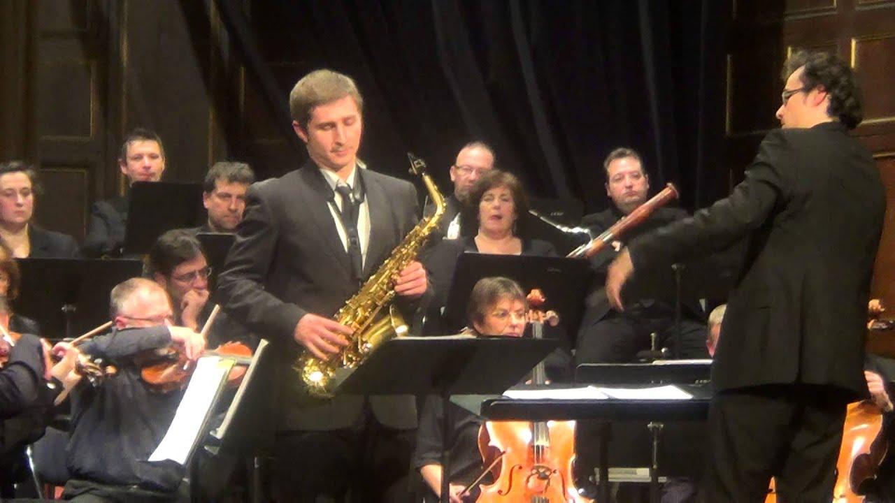 Lars-Erik Larsson - Concerto pour saxophone alto et orchestre à cordes  2&3 mvts (Illia Vasiachkin)