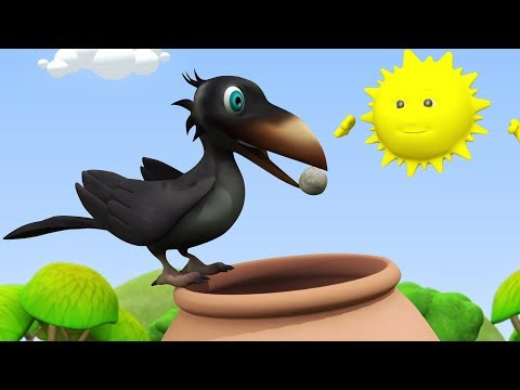 Ek Kauwa Pyasa Tha Poem Hindi | एक कौवा प्यासा था | Kids Channel India | Hindi Nursery Rhymes