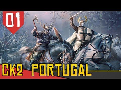 RECONQUISTA PORTUGUESA - Crusader Kings 2 Holy Fury #01 [Série