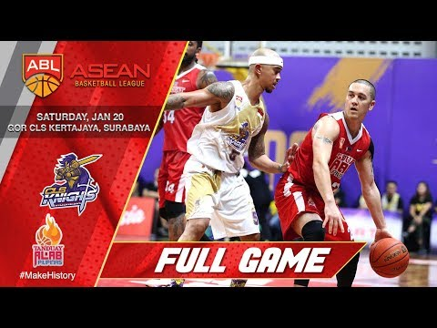 CLS Knights Indonesia vs Tanduay Alab Pilipinas | FULL GAME | ASEAN Basketball League