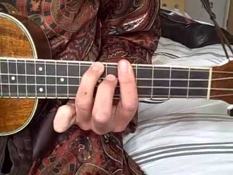 How To Play Smoke On The Water Using Barre Chords On The Ukulele