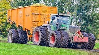 Krone BigX | Fendt 930 + Überladewagen | Maishäckseln im Moor