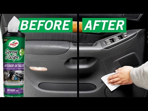 Best Car Interior Cleaner Spray Wipe