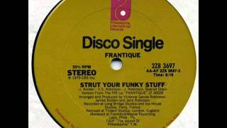 frantique - strut your funky stuff - 1979