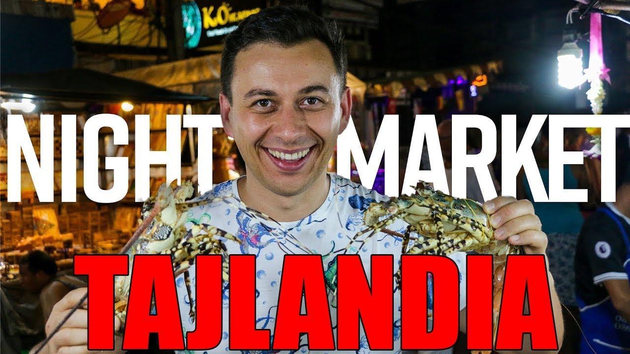 Jak smakuje Tajlandia? Night market w Hua Hin