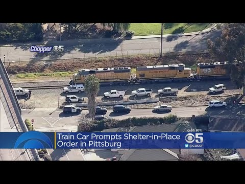 Odor From Rail Tanker Car Triggers Pittsburg Shelter In Place