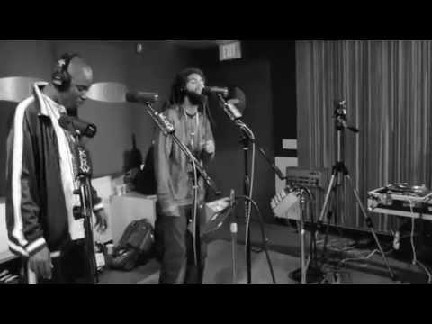 Thievery Corporation feat. Ras Puma & Sleepy Wonder - Amerimacka (live @ KCRW FM)