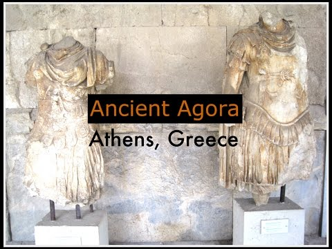 Ancient Agora (Athens, Greece): Walk Through