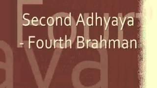 Sacred Chants - Brihadaranyak Upanishad (Chapter Two - Fourth Brahman)