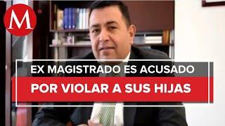 Manuel Cavazos, ex magistrado es acusado de violar a sus hijas menores de edad