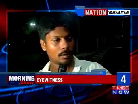 20852 Krieg Auto Times Now Three Navy Personnel Arrested for Running Over Pedestrian in Visakhapa