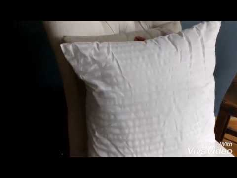 18 x 18 pillow insert youtube. Black Bedroom Furniture Sets. Home Design Ideas