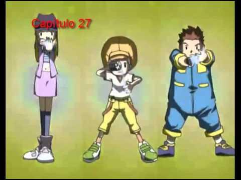 Digimon Frontier Transformations Cap (21-30) Castellano