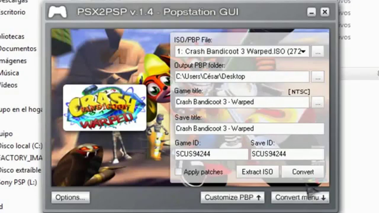 Eboot.pbp For Psp Emulator