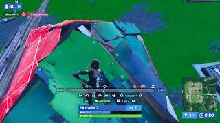 How to get in someones box with a shock wave (Fortnite)