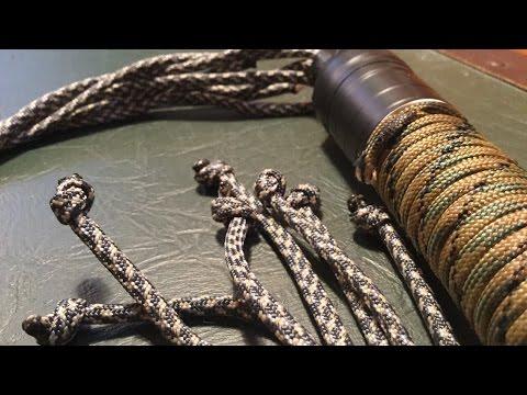 Nylon Whip Making Instructions