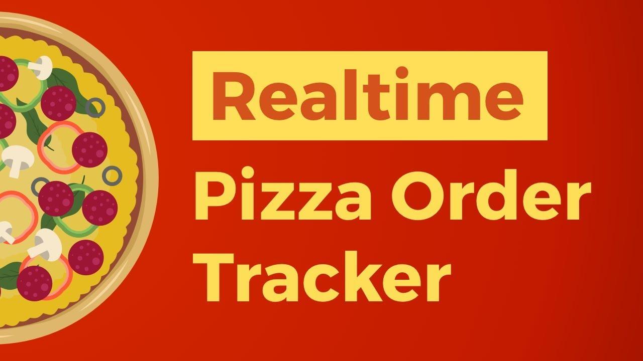 Realtime Pizza Order Tracker - Laravel, Vue & Pusher