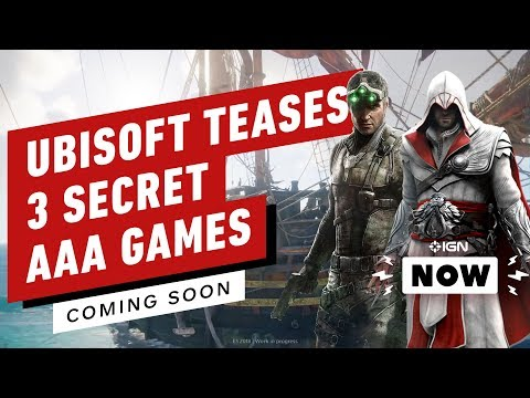 Ubisoft Has 3 Mystery AAA Games Coming by Next March - IGN Now