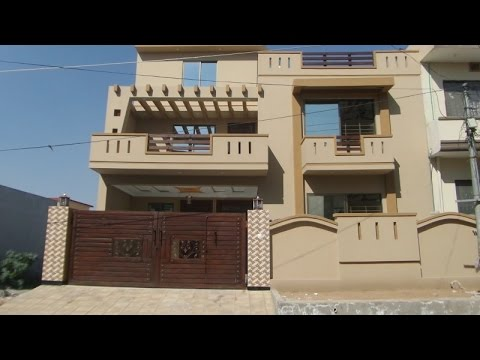 BRAND NEW DOUBLE STOREY 10 MARLA HOUSE IS AVAILABLE IN SOAN GARDEN ISLAMABAD