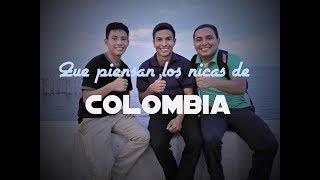 Que saben los NICAS  de COLOMBIA